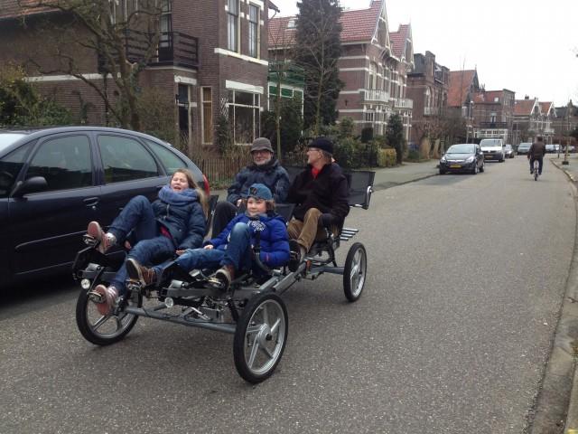 Buren huren voor 't eerst onze fiets