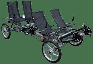 Quattrocycle 4 persoon klein
